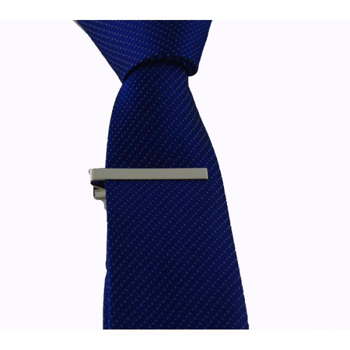 Gümüş Renk Kravat İğnesi - Brianze